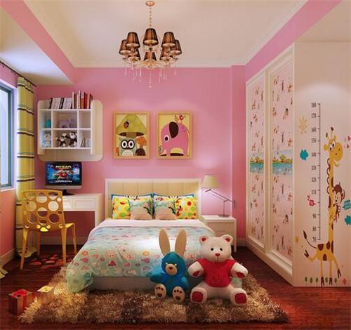 儿童房卧室设计要注意什么