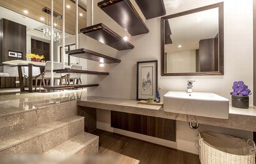 创意实用美观家庭楼梯设计